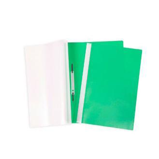 Папка скоросшиватель А4 зеленая 04604 Hatber купить оптом и в розницу