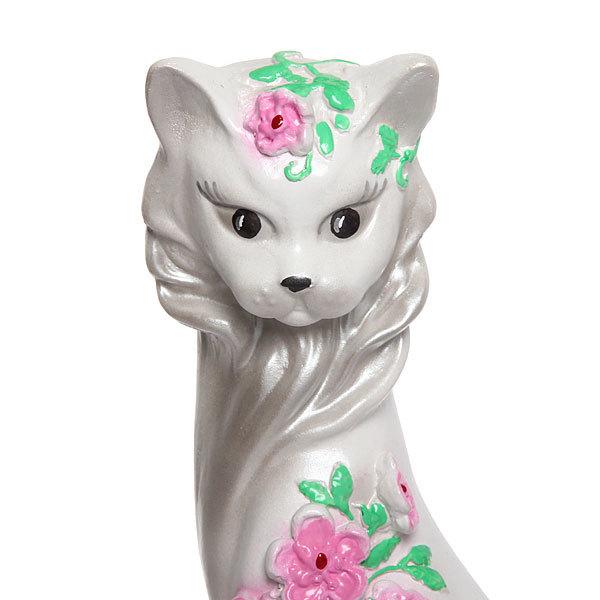 Статуэтка из гипса ″Кошка Цветы (сакура), 42см. купить оптом и в розницу