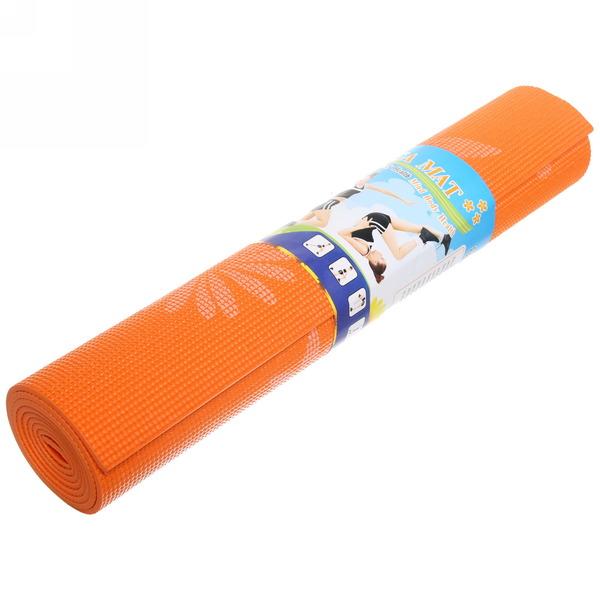 Коврик для йоги с принтом 6 мм (173х61х0,6) купить оптом и в розницу