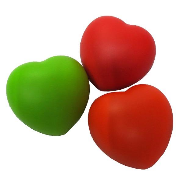 Мяч 7 см Сердце 141-153F купить оптом и в розницу