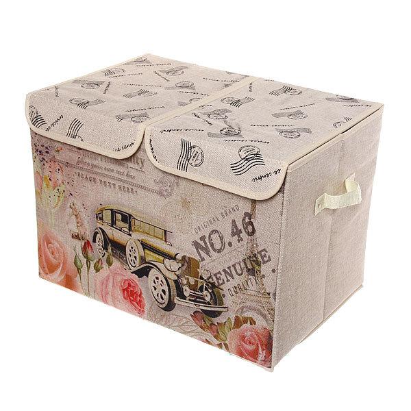 Коробка д/хранения вещей 47*31*34 C60 купить оптом и в розницу