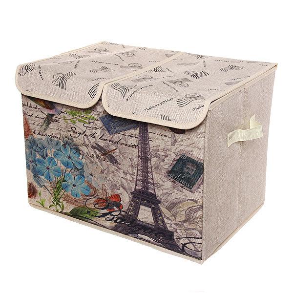 Коробка д/хранения вещей 47*31*34 C63 купить оптом и в розницу