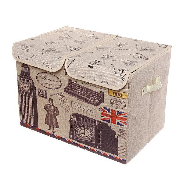 Коробка для хранения вещей 47*31*34 C64 купить оптом и в розницу