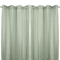 Шторы штор Лён 140*240см зеленые купить оптом и в розницу