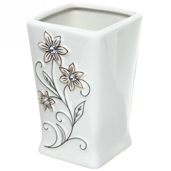 Набор для ванной из 5-ти предметов керамический B17436-5 купить оптом и в розницу