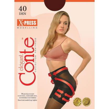 Колготки женские Conte X-Press 40,р.2, nero купить оптом и в розницу
