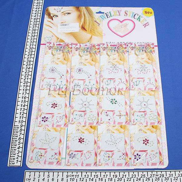 Украшение для нейл-арта накладные картинки 01 купить оптом и в розницу