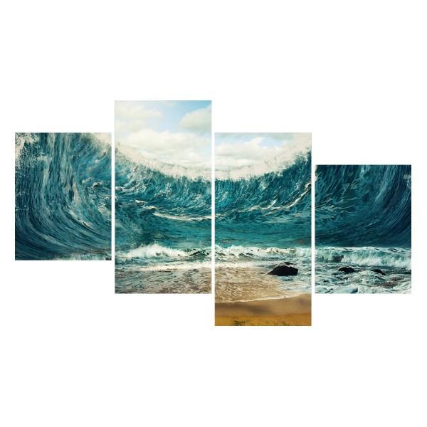 Картина модульная полиптих 60*129 Море диз.5 92-03 купить оптом и в розницу