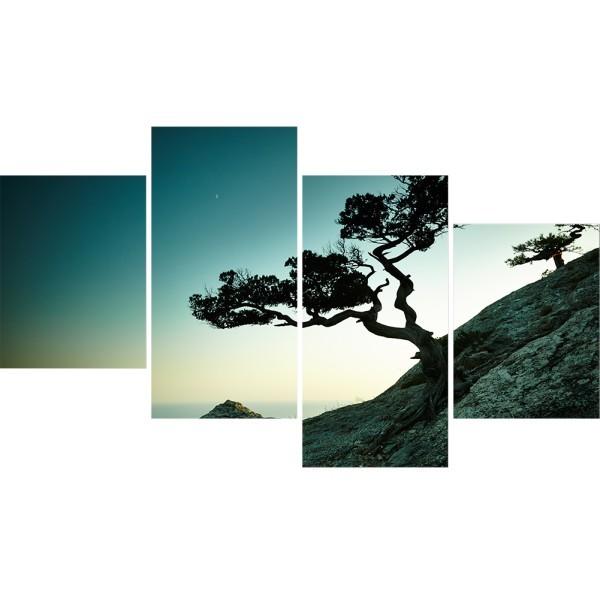 Картина модульная полиптих 60*129 Природа диз.31 93-03 купить оптом и в розницу