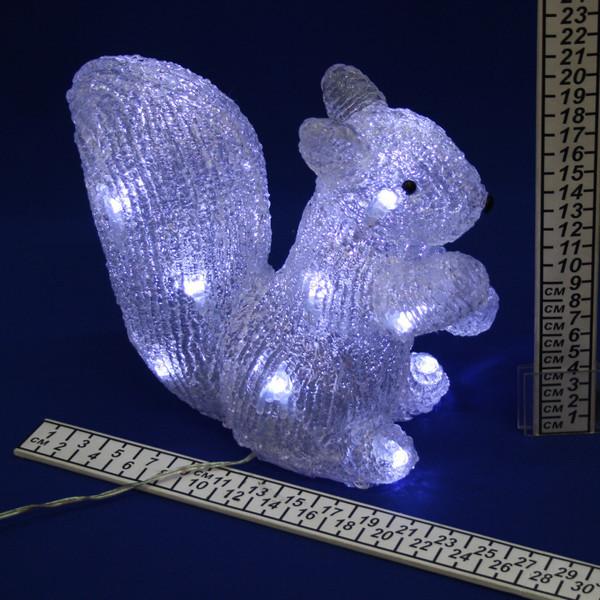 Фигура светодиодная Белочка″ 22 см купить оптом и в розницу