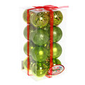 Новогодние шары ″Фисташковый Блеск″ 6см (набор 16шт.) купить оптом и в розницу