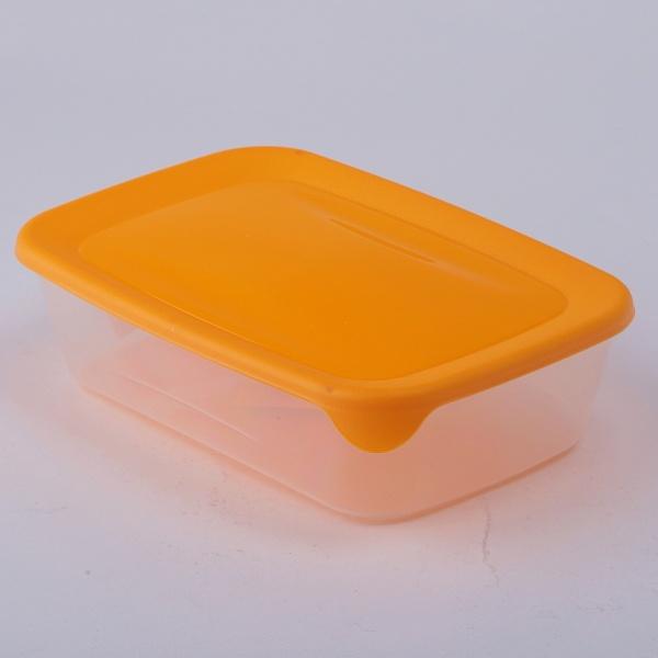 182294 Контейнер для СВЧ прямоуг.1л желт Curver./прозрач./6 шт купить оптом и в розницу