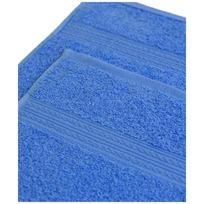 Махровое полотенце 100*180см Голубое купить оптом и в розницу