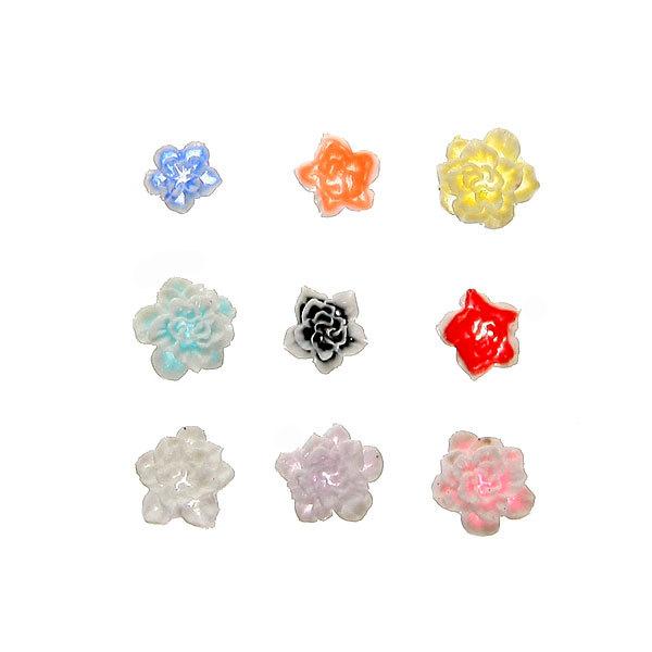 Фигурное украшение нейл-арта ″Цветы″ купить оптом и в розницу