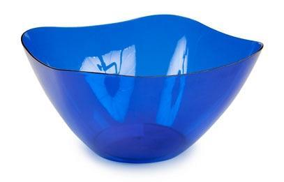 Салатник Ice 3л. (синий полупрозрачный)*15 купить оптом и в розницу