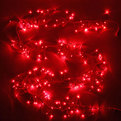 Гирлянда твинклайт 2м, 200 ламп микроLED, ″Фейерверк″, красный с удлинит. купить оптом и в розницу