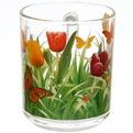 Кружка 250мл ″Тюльпаны с травкой″ круговая деколь купить оптом и в розницу
