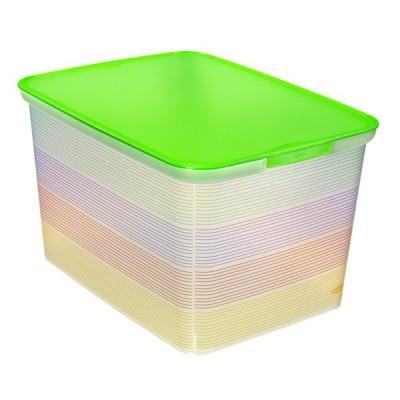 Коробка декор. L AMSTERDAM Summer  Stripes  /5 шт 400*300*240 Curver купить оптом и в розницу