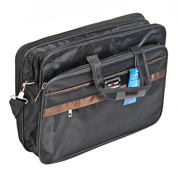 Сумка-портфель мужская ″Деловая″, 5 отделений 40*30 купить оптом и в розницу