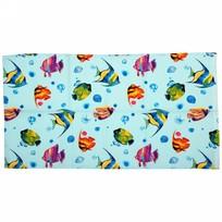 Полотенце вафельное 40*75см ″Подводный мир″ купить оптом и в розницу