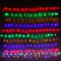 Сетка светодиодная 1,55 х 1,45 м, 120 ламп LED, Мультицвет, 8 режимов, прозр.пров. купить оптом и в розницу