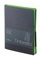 Еженедельник б/дат В5 BV 80л 185*230 Tintoretto черный, греб. купить оптом и в розницу