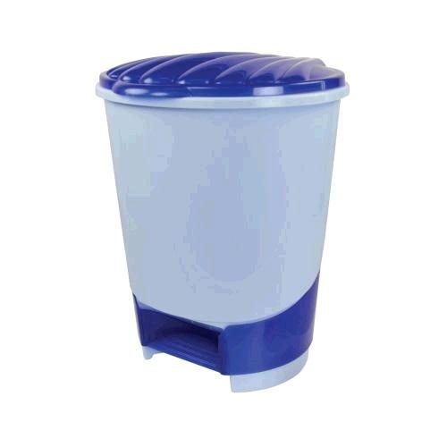 Ведро для мусора с педалью 10л. (голубой)(уп.1)  (Октябрьский) купить оптом и в розницу