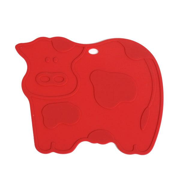 Подставка под горячее силиконовая ″Коровка″ 20 см H544 купить оптом и в розницу