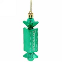 Ёлочная игрушка-конфета с блестящим пожеланием ″Богатства!″ купить оптом и в розницу