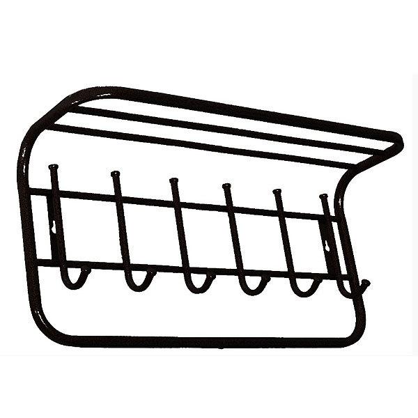 Вешалка с полкой 60 см (Черный) купить оптом и в розницу