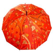 Зонт-трость женский ″Цветы″, 12 спиц, d-110см купить оптом и в розницу