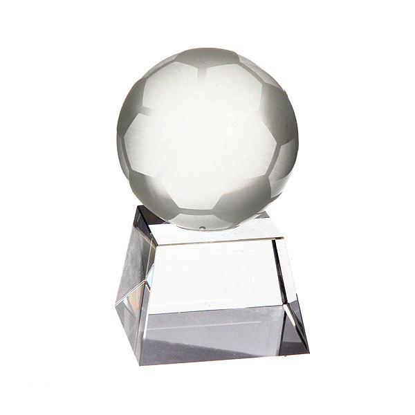 Кубок из стекла ″Футбольный мяч″ (13см) купить оптом и в розницу