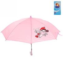 Зонт детский полуавтомат со свистком ″Дружба″, 8 спиц, d-80см, длина в слож. виде 45см купить оптом и в розницу
