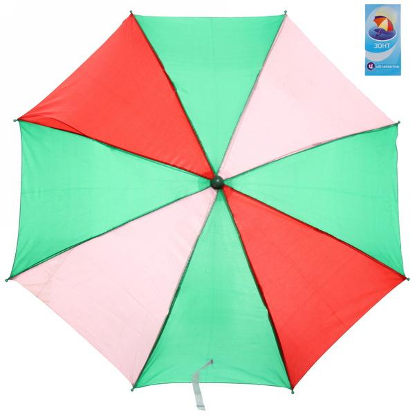 Зонт детский полуавтомат со свистком ″Радуга″, 8 спиц, d-72см, длина в слож. виде 45см купить оптом и в розницу