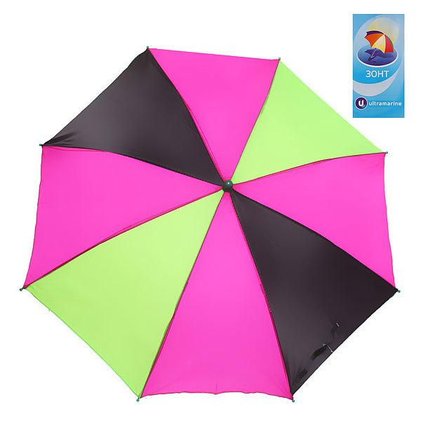 Зонт детский полуавтомат со свистком ″Радуга″ d-80см, длина в слож. виде 45см купить оптом и в розницу