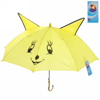Зонт детский полуавтомат со свистком ″Лисичка″, 8 спиц, d-78см, длина в слож. виде 45см купить оптом и в розницу