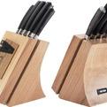 Набор из 5 кухонных ножей и блока для ножей с ножеточкой, NADOBA, серия DANA *4 купить оптом и в розницу