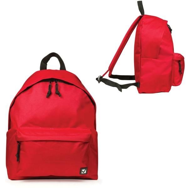 Рюкзак BRAUBERG B-HB1629 Сити-формат, красный 20л 225379 купить оптом и в розницу