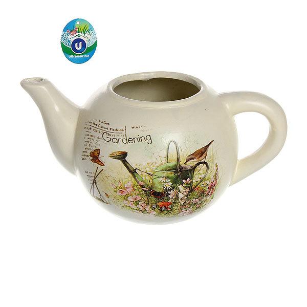 Кашпо для цветов садовое ″Чайник″ 24х12см″ YE13040-1 купить оптом и в розницу