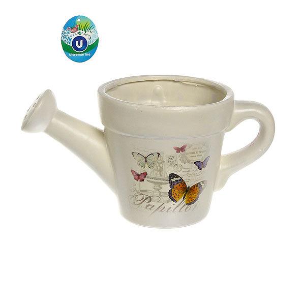 Кашпо для цветов садовое ″Лейка″ 30х15см″ YE13045-1 5,3 купить оптом и в розницу