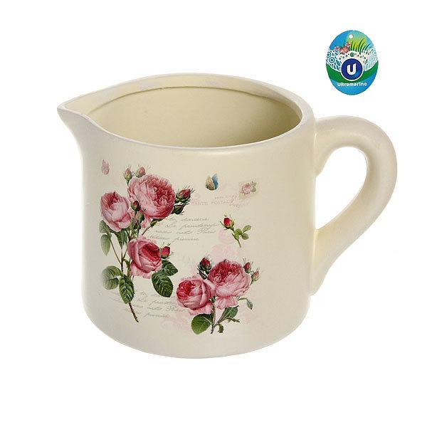 Кашпо для цветов садовое ″Молочник″ 21,5х13,5см″ YE12170-3 купить оптом и в розницу