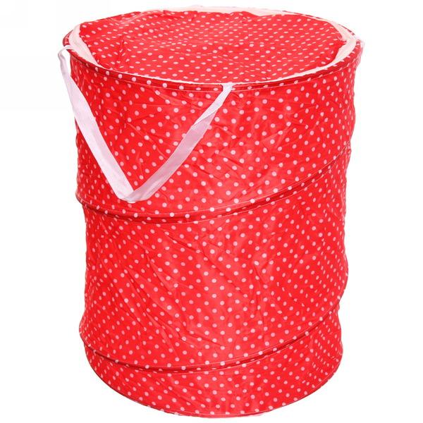 Корзина для белья, складная ″Хризантемы″ 45*36 см купить оптом и в розницу