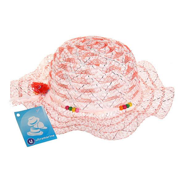 Шляпа детская пляжная ″Каролина-цветочек″, цвет в ассортименте купить оптом и в розницу