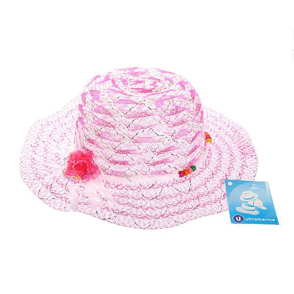 Шляпа детская пляжная ″Каролина″ 809-14 купить оптом и в розницу
