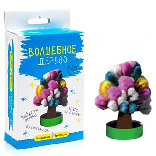 Набор ДТ Волшебные кристаллы Дерево разноцветное CD-111 купить оптом и в розницу