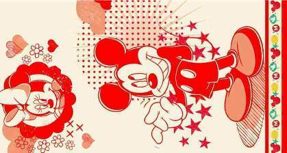 ПЦ-3502-1739 полотенце 70х130 махр п/т Mickey Star цв.10000 купить оптом и в розницу