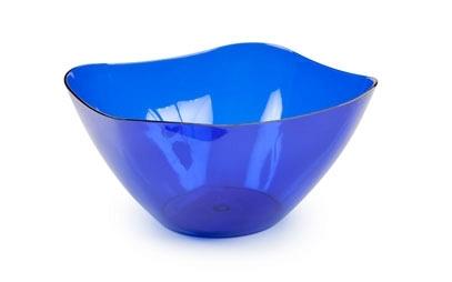 Салатник Ice 0,5л. (синий полупрозрачный) *70 купить оптом и в розницу