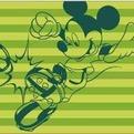 ПЦ-3502-1746 полотенце 70х130 махр п/т Mickey and Football цв.10000 купить оптом и в розницу