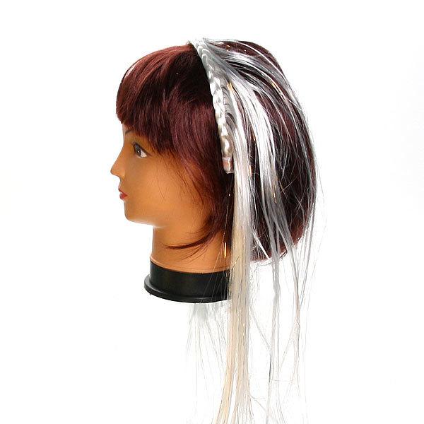 Волосы накладные ″Ободок с волосами″ блондинка 60см 517-2 купить оптом и в розницу