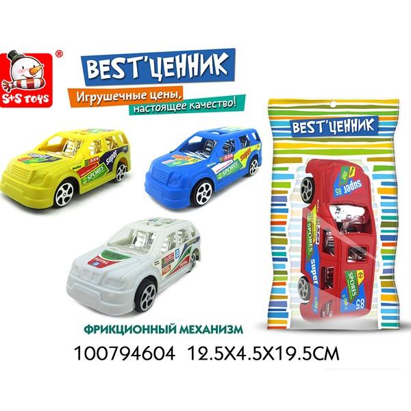"""Машина инерц. 100794604 BEST""""ценник в пак. купить оптом и в розницу"""